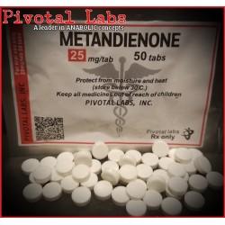 METHANDIENONE (Dianabol) - 25mgtab 50 Tabs/bag - PIVOTAL - USA