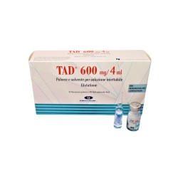 1 amp - TAD600- Glutatione 646mg/vial (without water)