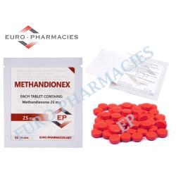 Methandionex (Dianabol) - 25mg/tab Euro Pharmacies