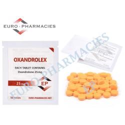 Oxandrolex 25 (Anavar) - 25mg/tab Euro-Pharmacies