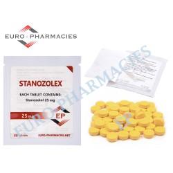 Stanozolex (Winstrol) - 25mg/tab Euro-Pharmacies - USA