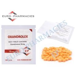 Oxandrolex 10 (Anavar) - 210mg/tab Euro-Pharmacies