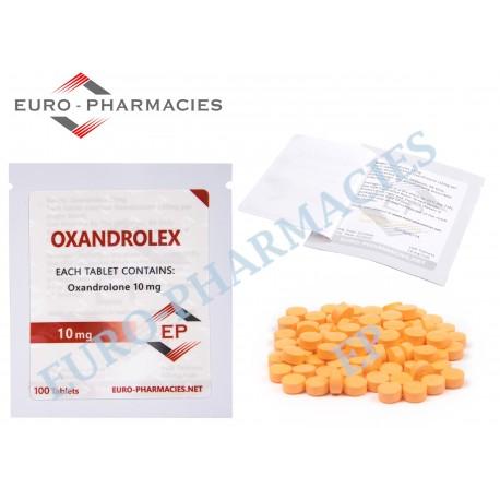 OXANDROLONE (Anavar) - 10mg/tab Euro-Pharmacies