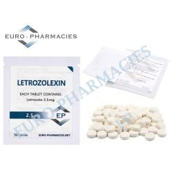 Letrozolexin (Letrozole)- 2.5 mg/tab Euro-Pharmacies