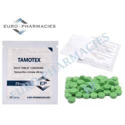 Tamotex (Tamoxifen) - 20mg/tab Euro-Pharmacies